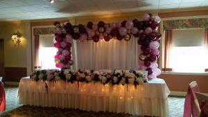 Square Garland Arch