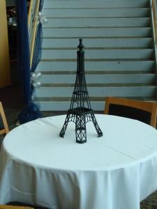 Eiffel Tower Centerpiece Rental
