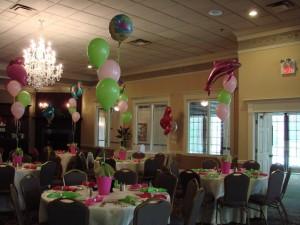 Themed 3 balloon