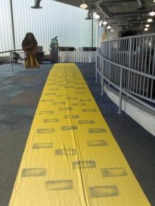 50' Yellow Brick Road Rental