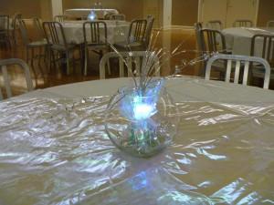 Lighted Fish Bowl